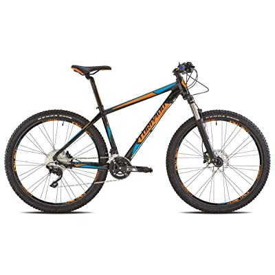 "'Torpado vélo MTB 27,5""Neptune alu 2x 10V Disque taille 47Noir Orange V17(VTT ammortizzate)/Bicycle VTT Neptune 27,5alu 2x 10s disc Size 47black orange V17(VTT"