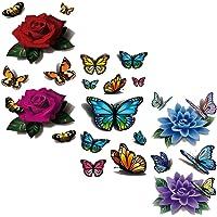 Evtech(tm) 3 Estilo Mix Flores florales de animales