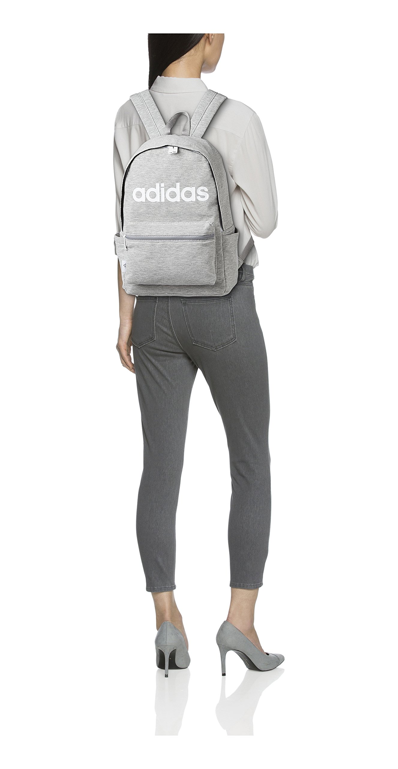 adidas Luc sport casual 42cm 17L 47423 47423 09 (medium gray heather) by adidas (Image #2)