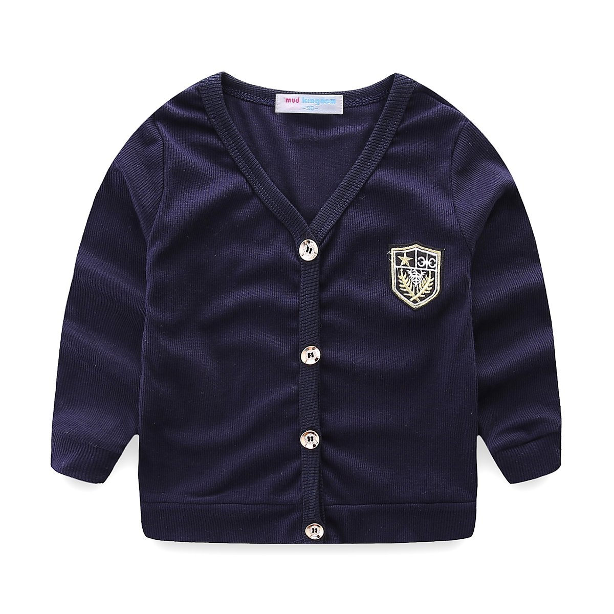 Mud Kingdom Little Boys Dress Coats Lightweight Plain