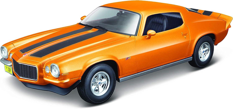 31131 Maisto 1:18 Special Edition Blue 1971 Chevrolet Camaro Diecast Car NIB HTF
