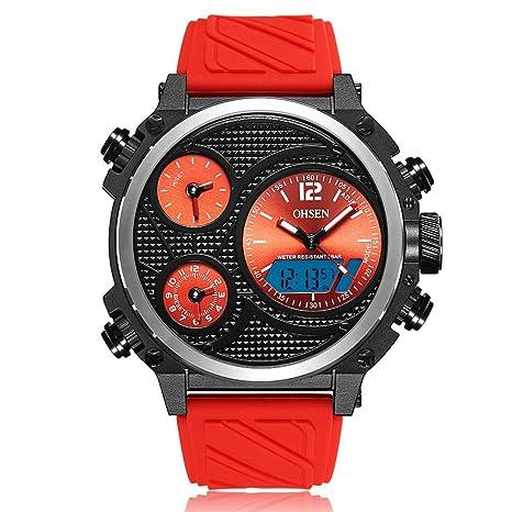 Sports Watches Relojes de Hombre Reloj de Cuarzo Correa de ...