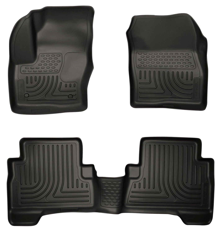 Amazon com husky liners front 2nd seat floor liners fits 13 16 c max 13 17 escape automotive