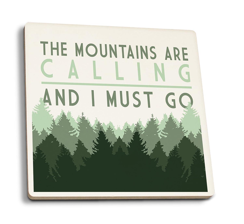 お待たせ! The Mountains LANT-83606-TT Coaster Are Calling and I must go Set – Pine Trees Canvas Tote Bag LANT-83606-TT B079YHYX97 4 Coaster Set 4 Coaster Set, ウグイスザワチョウ:7357a4e7 --- 4x4.lt