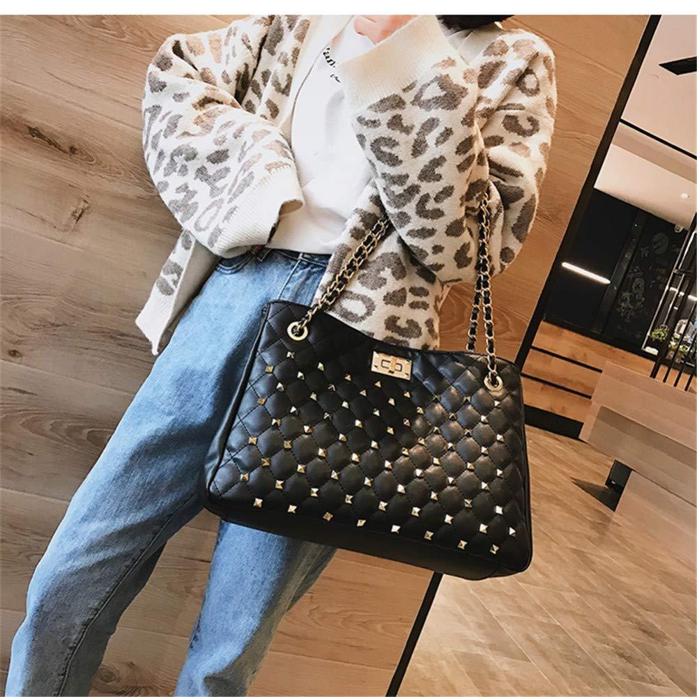 Lidoudou Tasche Dame wild rhombische Kette Mode Mode Mode Atmosphäre Schulter Messenger Bag Größe (Höhe 24 cm, Breite 36 cm) Material PU B07MGD9TRC Wanderruckscke Kaufen ebe785