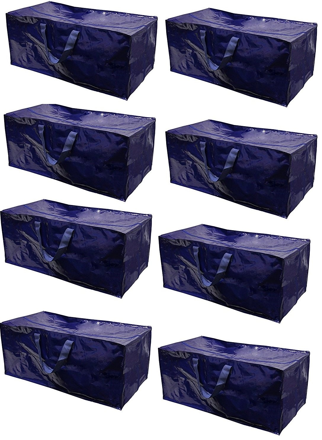 【今日の超目玉】 Earthwise Heavy Duty B077MX93V1 Extra LargeストレージバッグMovingトートバックパックCarrying Handles – – 8パック) と互換性IKEA Frakta HandカートボックスBin ( 8パック) B077MX93V1, HealthBox:5bb990ac --- irlandskayaliteratura.org