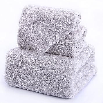 Longwei Traje de Toalla de algodón Trapo de baño de Cara de algodón Adulto 3 en