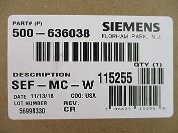 Siemens SEF-MC-W - Altavoz con Alarma de Incendios ...
