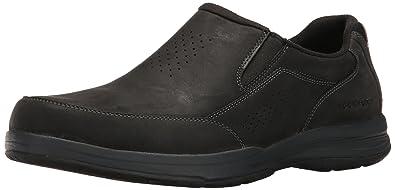 Rockport Men's Barecove Park Slip-on Black Oiled 6.5 W (EE)-6.5