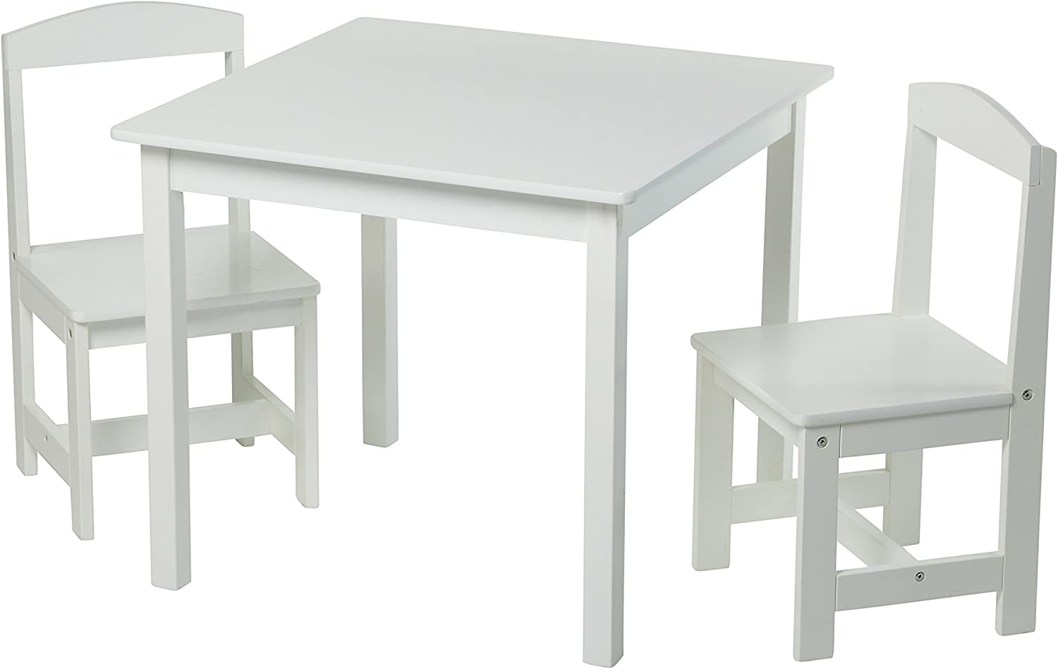 Target Marketing Systems Hayden 35 Pc Kids Table And Chairs, White