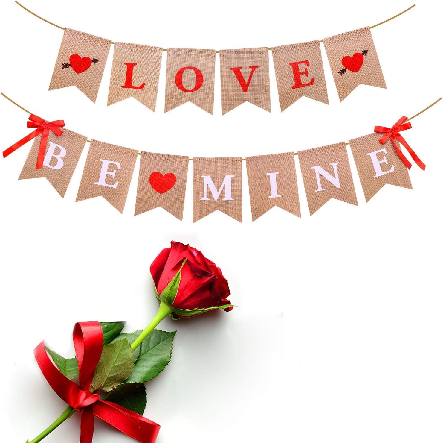 Valentines Gift Linen Heart Burlap Heart Valentines Day Decor Heart Decor Burlap Wedding Decor Valentine Favor Valentine Heart Rustic Decor