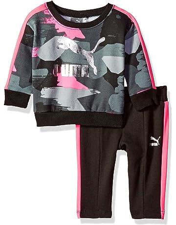 34ace20aa200 PUMA Baby Girls  Pullover Fleece Set