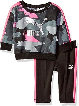 PUMA Baby Girls Pullover Fleece Set