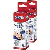 SOS Wund-Reinigungsspray (2er Pack) - zur schmerzfreien Versorgung akuter Wunden