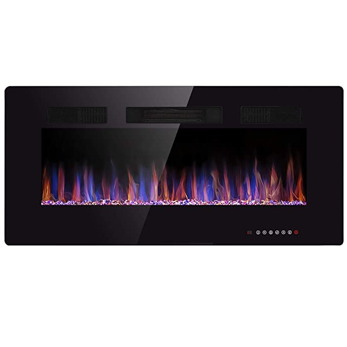 Tremendous Amazon Com Jamfly Electric Fireplace 36 Wall Mounted Download Free Architecture Designs Scobabritishbridgeorg