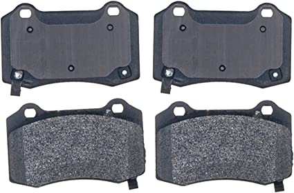 Acdelco 17d1053 M Professional Semi Metallic Rear Disc Brake Pad Set By Acdelco Auto