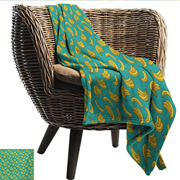 Strange Amazon Com Ewaskyonline Yellow And Blue Couch Blanket Bralicious Painted Fabric Chair Ideas Braliciousco