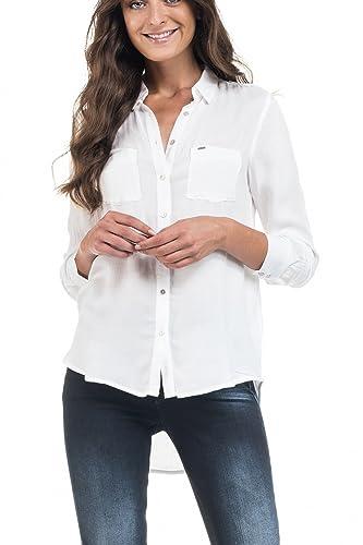 Salsa – Camisas – para mujer blanco hueso Large