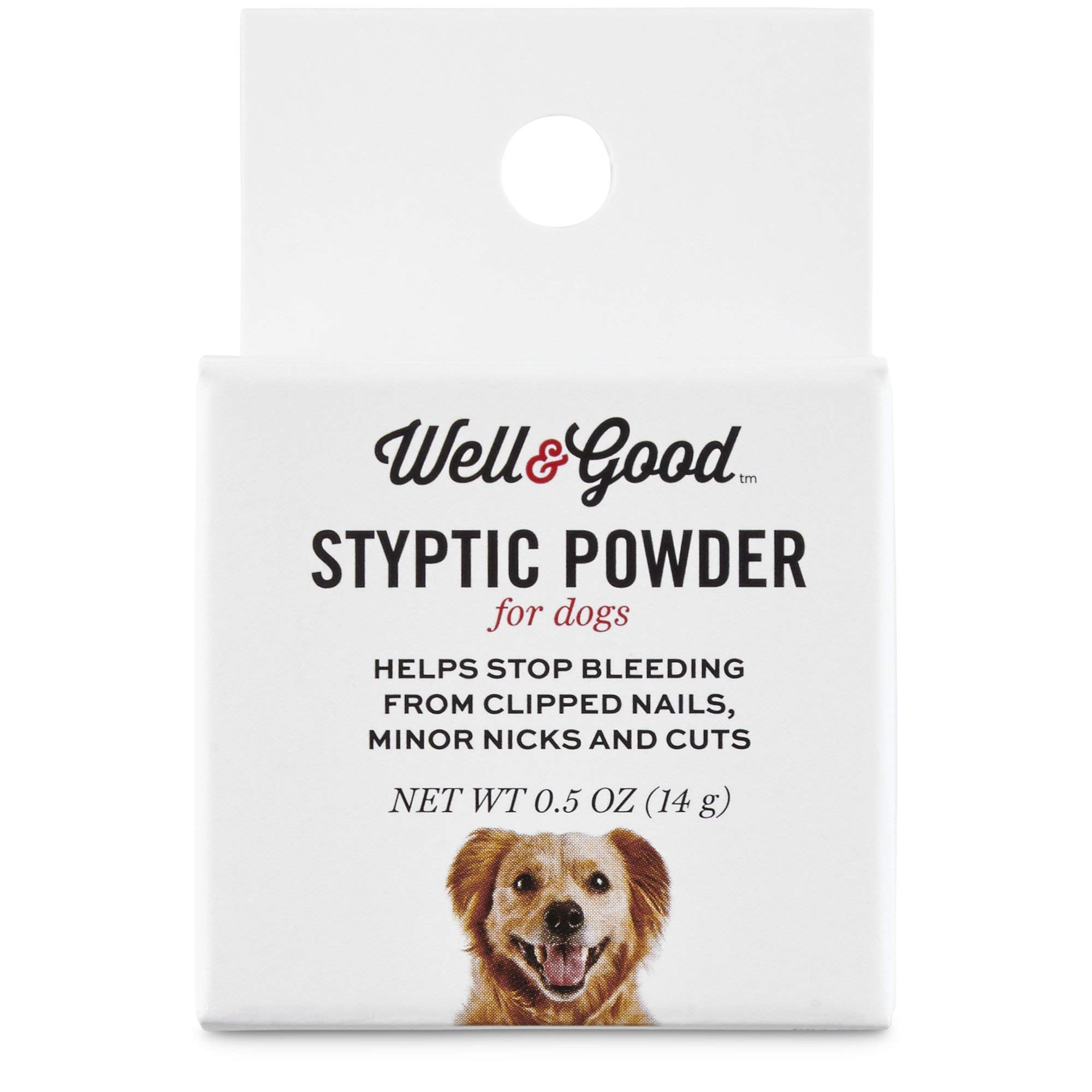 Well & Good Styptic Powder for Dogs, 0.5 OZ by Well & Good