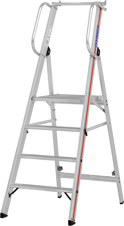HYMER 808004 - Escalera de tijera: Amazon.es: Bricolaje y herramientas