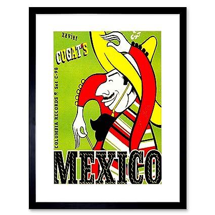 Amazon Music Xavier Cugats Mexico Mexican Sombrero Guitar Frame