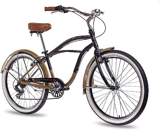 CHRISSON 26 Pulgadas Aluminio showbike Hombre Bicicleta Sando con ...