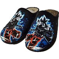 Zapatillas Fan Art inspiradas en Goku Dragon Ball - Cómodas casa Pantuflas
