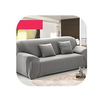 Amazon.com: Pink-star 4/3/2/1 Seat Elastic Spandex Sofa ...