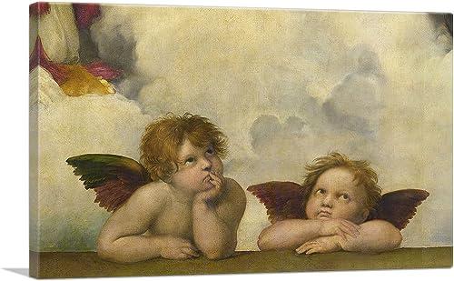 ARTCANVAS Sistine Madonna
