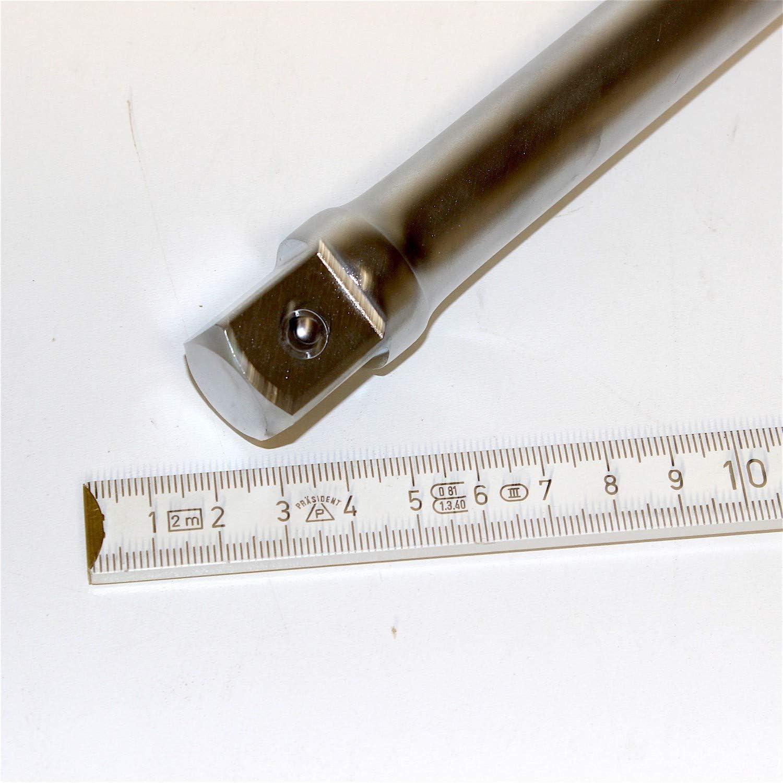 Nuss. Knarre und Steckschl/üsseleinsatz 10 Jahre Garantie 400 mm lang von WGB zum Verl/ängern zwischen Ratsche mit Sicherungsknopf 3//4 zoll 20 mm Verl/ängerung L/änge 40 cm Aus Chrom-Vanadium-Stahl