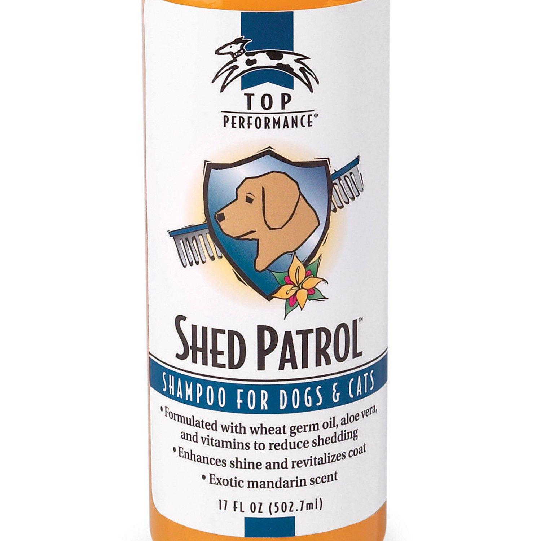 Top Performance Shed Patrol de-Shedding Shampoo per Cani Cani Cani e Gatti, 481,9 Gram 68dfc7