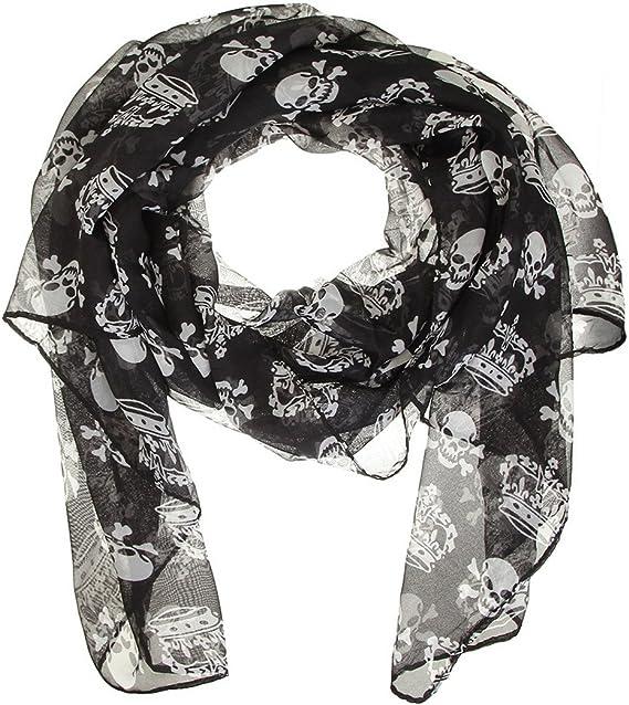 Acheter foulard echarpe bandana tete de mort online 12
