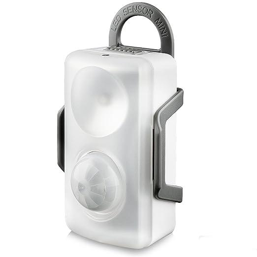 LED Luz de Sensor Movimiento, QPAU 3 Modos de múltiples funciones ...