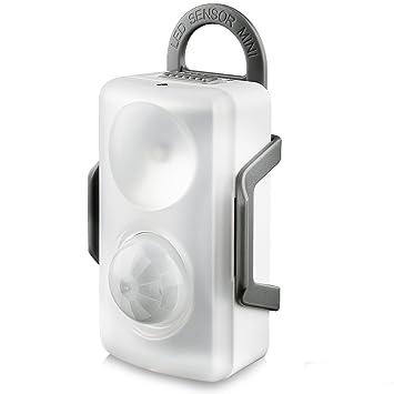 LED Luz de Sensor Movimiento, QPAU 3 Modos de múltiples funciones, pegar en cualquier