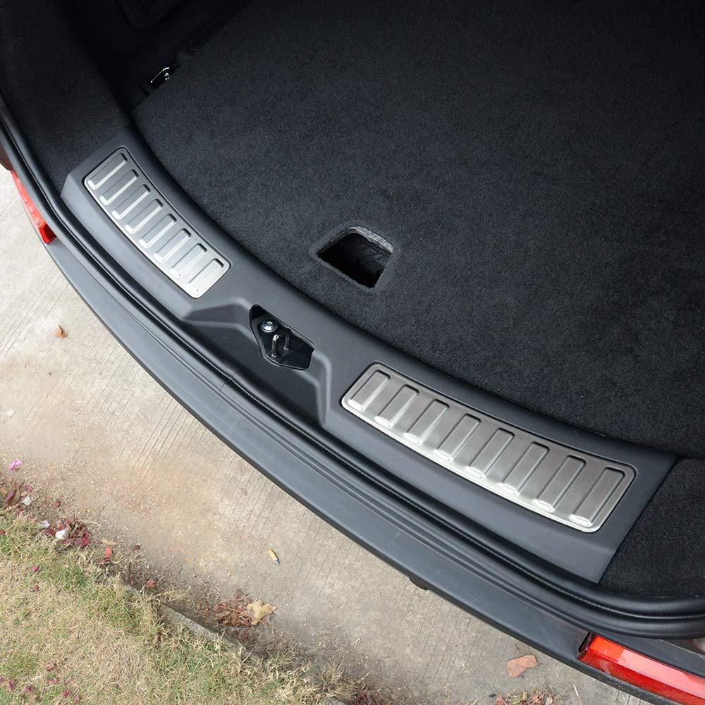 2/Edelstahl Auto hinten innen T/ür Bumper Displayschutzfolie Sill Scuff Plate Trim f/ür Discovery Sport 2015/2016/2017