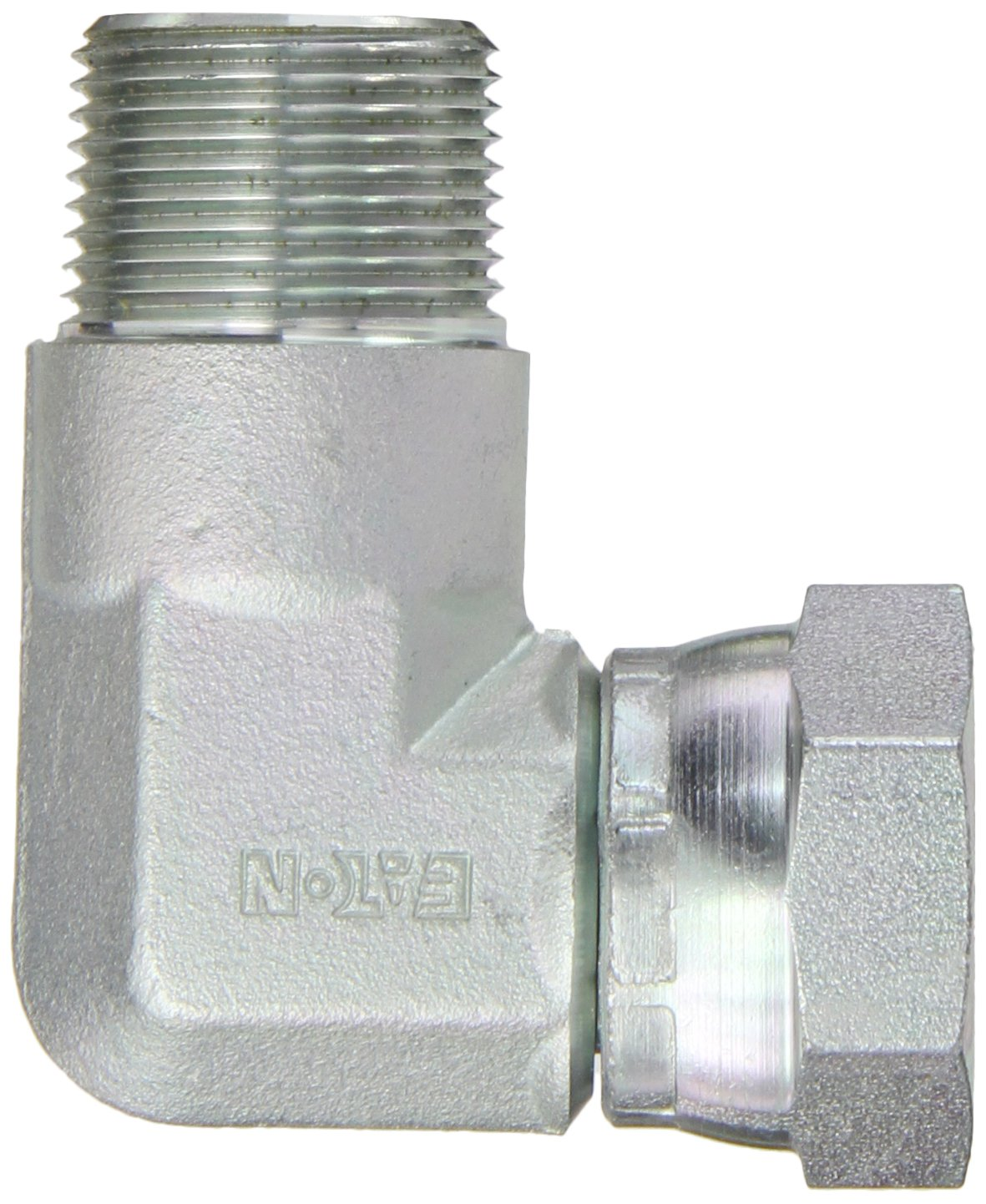Eaton Aeroquip 2047-12-12S Steel Pipe Fitting 90 Degree Elbow 3//4 NPSM Female x 3//4 NPT Male