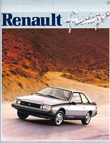 1983 Renault Fuego Brochure