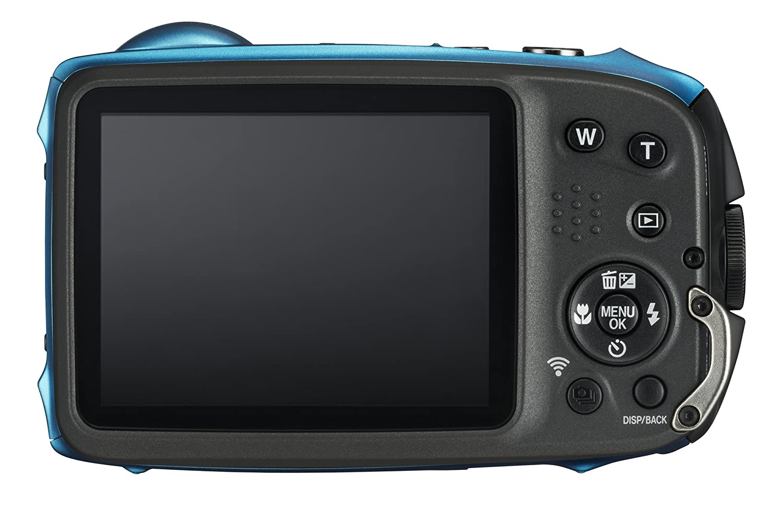 94f5244fd3c7 Amazon.com   Fujifilm FinePix XP130 Waterproof Digital Camera w 16GB SD  Card - Sky Blue   Camera   Photo