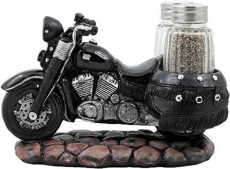 Motorcycle Salt & Pepper Shakers