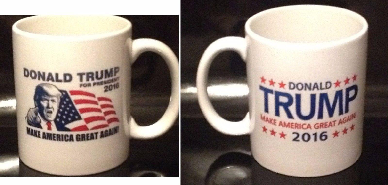 Donald Trump 2016 Coffee Mug Make America Great Again (2 Sided Design)