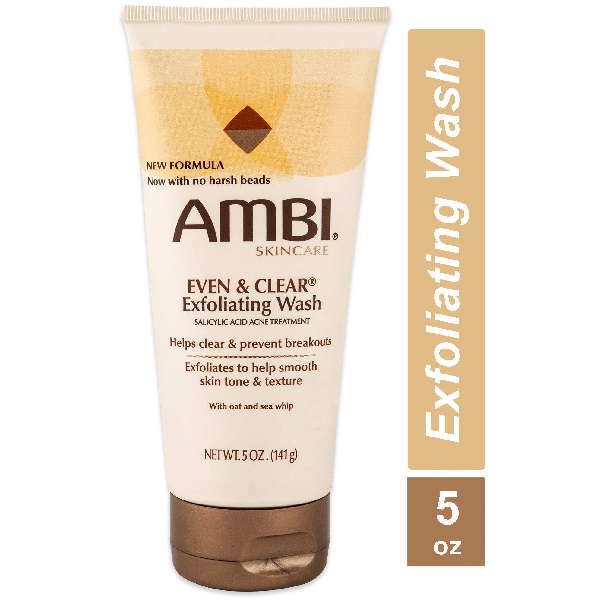 Ambi Even & Clear Exfoliating Wash 5 oz