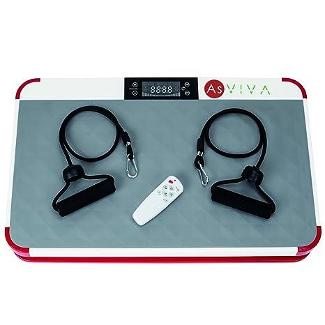Placa de vibración AsVIVA V11 Pro vibración Trainer con LED Fitness ...