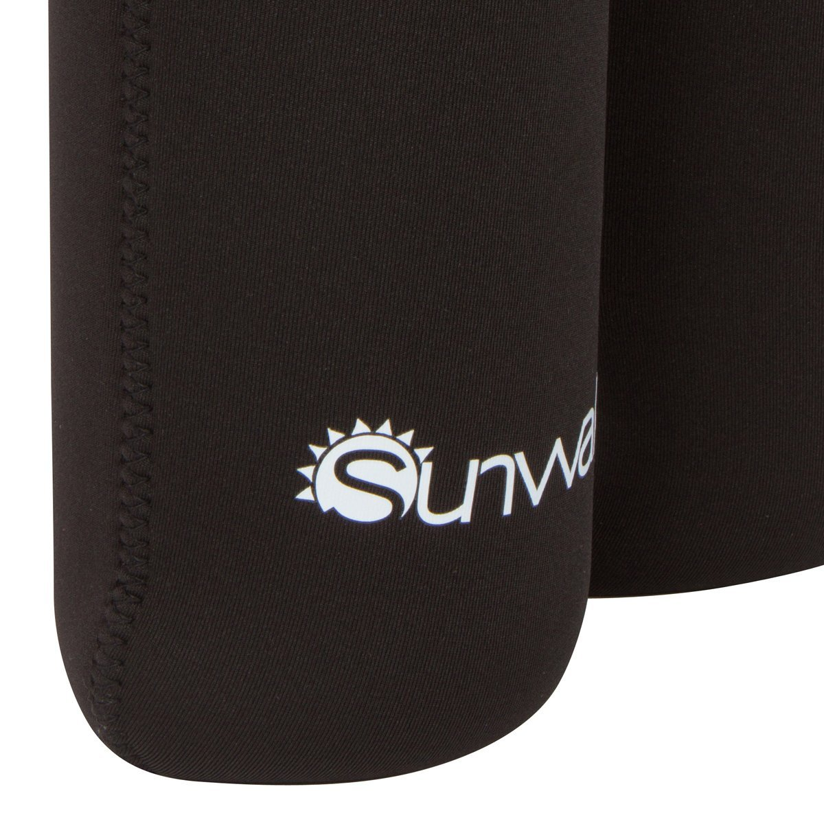 Sunwalla Insulated Wine Carrier – Neoprene Tote Bag Holds 2 Bottles of Wine – Secure Carry Handle