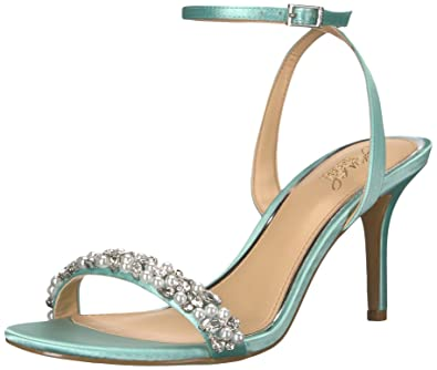 343d932db00 Amazon.com  Badgley Mischka Jewel Women s Theodora Heeled Sandal  Shoes