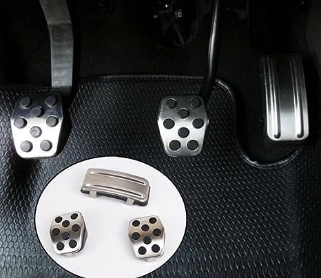 Emblema Trading Ford Focus 2 3 MK3 MK2 Diseño Tuning Pedales Juego schaltung Engranaje Acero Inoxidable
