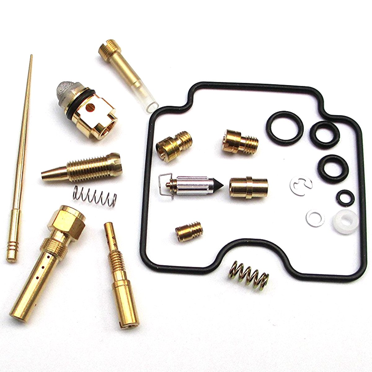 New Carburetor Rebuild Repair Kit for Yamaha Grizzly 660 4x4 YFM660FW 2002 2003 2004 2005 Carb Replacement Assembly by Amhousejoy RUIAN HAOCHENG VEHICLE PARTS