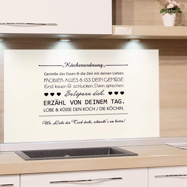GRAZDesign Küchenrückwand Glas-Bild Spritzschutz Herd Edler