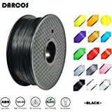 新品 DARCOS ブラック 3Dプリンター用ABSフィラメント1.75mm 1kg