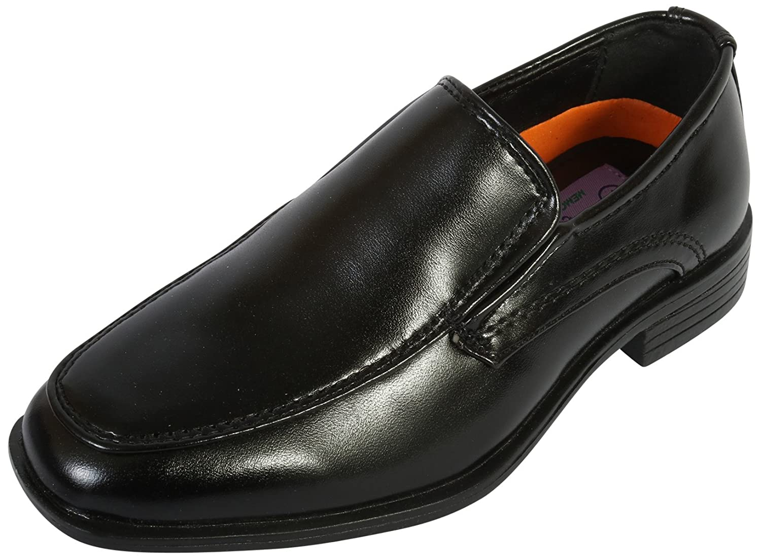 Jodano Collection Boys Comfort Slip On Loafers (Toddler/Little Kid/Big Kid)