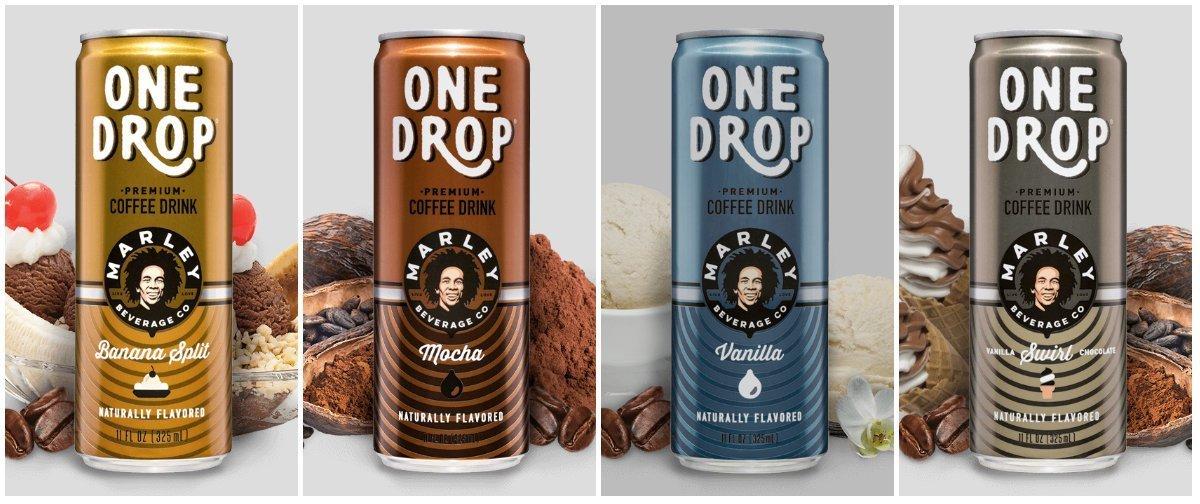 One Drop Premium Coffee Drinks (4 Flavor Variety Pack)